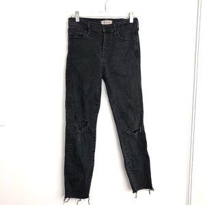 "Madewell 9"" High Riser Skinny Skinny Denim Jeans"